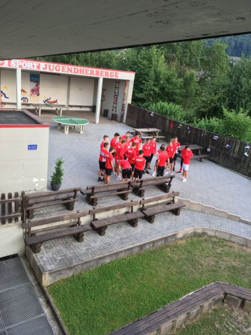 U16 im Trainingslager 2